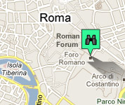 Click for map of Roman Forum hotels