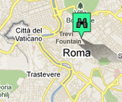 Click for map of Rome City Centre hotels
